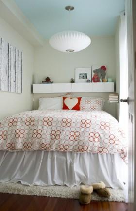 清新宜家温馨的卧室装修效果图大全