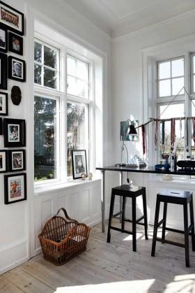 黑白简欧风格小户型餐厅装效果图大全