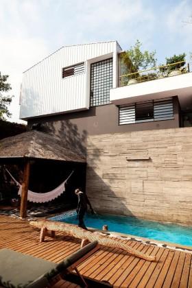 美式别墅温馨创意阳台装修效果图大全