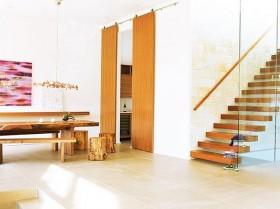 现代风格别墅创意楼梯装修图片