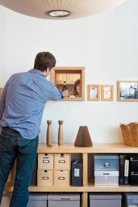 30平小户型客厅收纳柜装修效果图