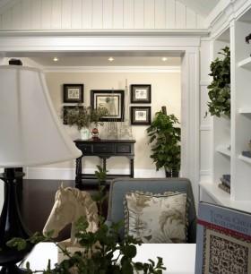 19万打造120平欧式简约客厅背景墙装修效果图