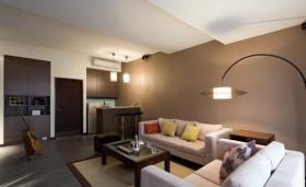 三房两厅现代客厅装修效果图大全