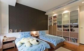 三房两厅现代儿童房装修效果图大全2012图片