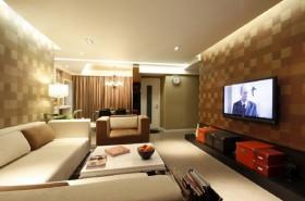 90平米温馨的小户型客厅装修效果图大全