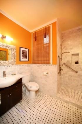 二居室东南亚风格厕所装修效果图大全2012图片