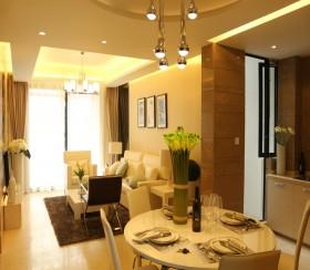 现代简约风格70平米两室一厅装修效果图