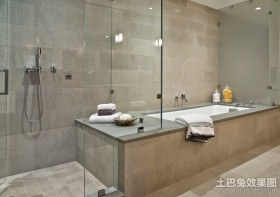感觉很温馨的北欧风格卫生间装修效果图大全2012图片