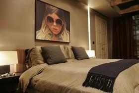 70万打造200平米美式卧室装修样板间