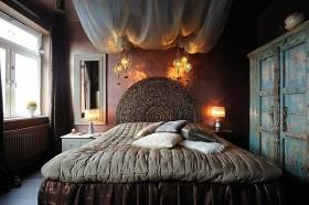 15万打造4居美式现代风格卧室装修图片