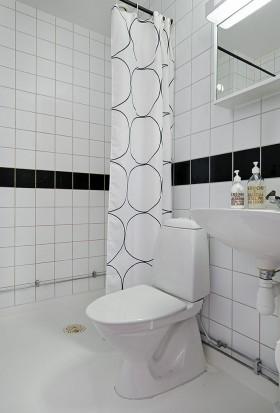 45平方米卫生间瓷砖装修效果图大全