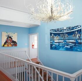 80后复式楼楼梯设计效果图