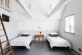复式楼北欧风格卧室装修效果图大全