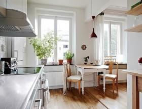 80平小户型家庭餐厅装修效果图大全