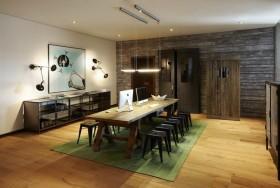 15万打造唯美的现代简欧装修风格休闲区装修效果图