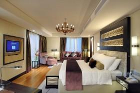 120平三室两厅最新卧室吊顶装修效果图大全2012图片