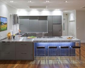 7万打造清新地中海风格厨房装修效果图大全