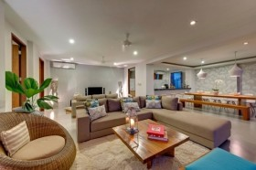 深圳三房两厅简约之家客厅装修效果图大全