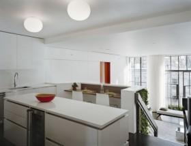 80后大爱的白色简欧风格厨房装修效果图大全