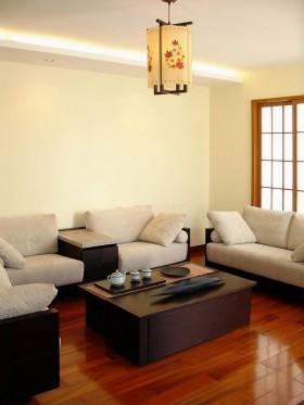 最新中式风格名古屋别墅客厅样板设计