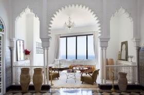 爱琴海的浪漫地中海风格装修客厅