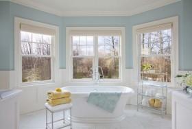 18万打造华丽美式风格浴缸装修效果图大全