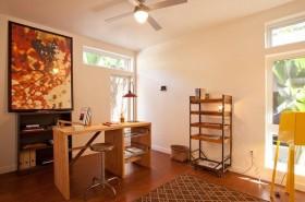 二居室浪漫温馨的书房装修效果图大全