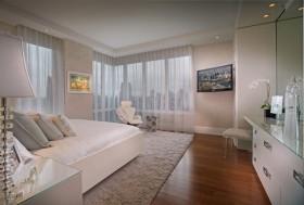 18万打造清新欧式风格二居卧室窗帘装修效果图