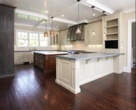 10万打造华丽美式厨房橱柜装修效果图大全