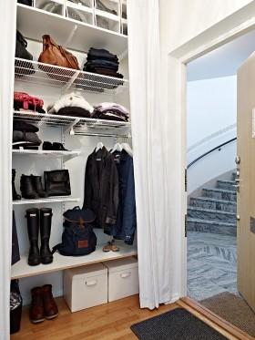 36平单身公寓衣帽间装修效果图大全