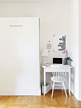 单身公寓书房工作区装修效果图大全