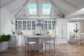 北欧风格阁楼厨房装修效果图大全2013图片