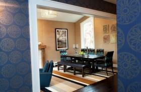 110平轻松打造美式二居房餐厅装修效果图大全