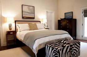 110平轻松打造美式二居房卧室装修效果图大全