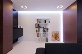三室两厅两卫简约书房装修效果图大全2012图片