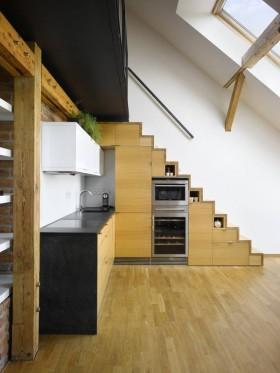 小复式楼厨房阁楼装修效果图大全2013图片