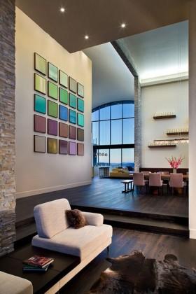 10万打造90平米现代风格客厅装修效果图大全