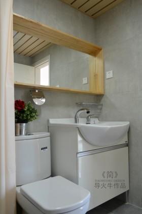 90平米小户型简约厕所装修效果图