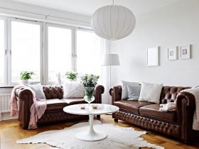 4万打造单身公寓简约风格客厅飘窗装修效果图大全