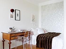 4万打造单身公寓简约风格飘窗装修效果图大全2012图片