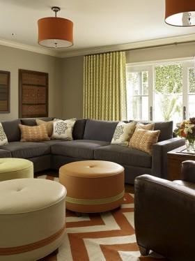 两室一厅舒适的客厅装修效果图大全