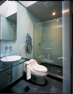 三居室地中海风格厕所装修效果图大全