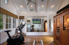 两室一厅美式风格休闲区飘窗装修效果图大全
