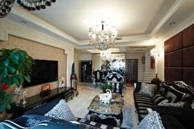 三居室欧式奢华客厅装修效果图大全