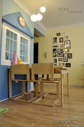 蓝蓝的天,蓝蓝的海2012地中海风格餐厅装修效果图