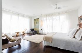 120平三房两厅现代风格卧室装修效果图大全