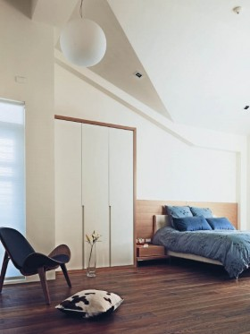 15万打造浪漫北欧风格卧室复式装修效果图大全