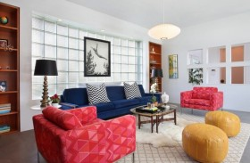 小户型美式风格客厅装修效果图大全