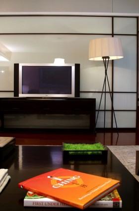 130万打造简约风格家居客厅电视背景墙装修效果图大全