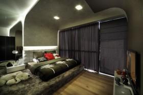 二室一厅现代风格卧室装修效果图大全2012图片